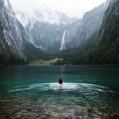Obersee, Germany.
