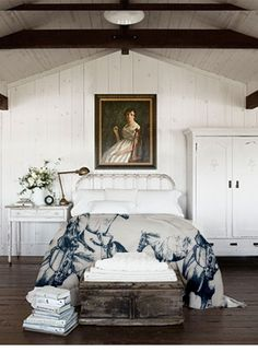 an eleanor walton horse print..this visualisation helps show the throw to its full potential. www.eleanorwalton.com