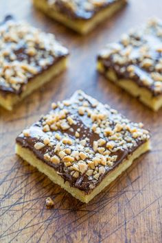 Toffee Almond Bars