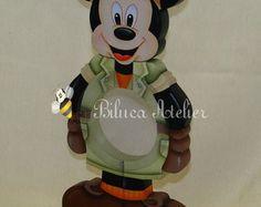 Baleiro Grande Mickey Safari