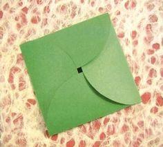 Sobres de papel faciles de hacer ~ Solountip.com