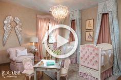 Room Tour: Pink Princess Nursery for Twins - Project Nursery