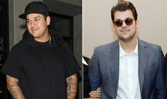 Recent picture Rob Kardashian weight loss 2014