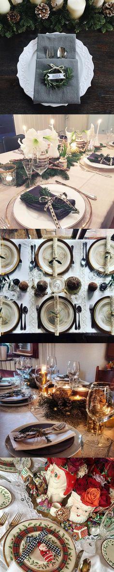 70 Ultra-Modern Christmas Tablescape Stunners