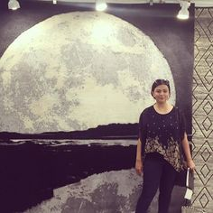 """""""Being creative is not a hobby. It's a way of life.""""- By Our Co-founder, Ms. Talwar seen here at the Home Decor Show! . . . #rugsandbeyond #inspiration #interiordesign #homedecor #hongkong #style #color #neutral #womenentrepreneurs #makers #strong #powerfemale #womeninbusiness #womeninbiz #tuesdays #modernrugs #vintage #creative"""