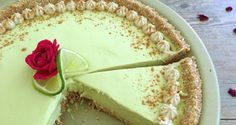 Raw Vegan Key Lime Pie with Nut-free Filling