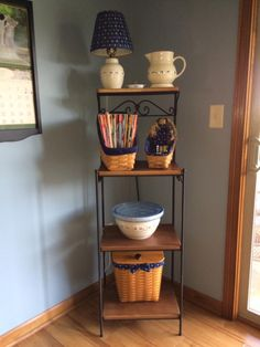 Longaberger S Wrought Iron Library Table Makes A Great End