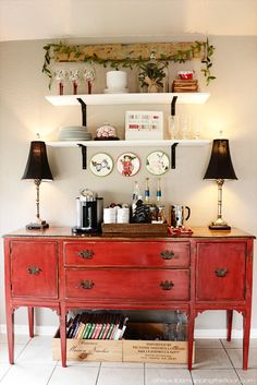 Christmas Home Tour   Vintage and Handmade Holiday Ideas and DIY Projects