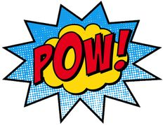 pow and boom sign - Google Search