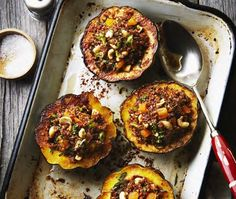 Middle Eastern Stuffed Acorn Squash Recipe | House & Home | Photo via Patricia Green and Carolyn Hemming's Quinoa Revolution (2012 Penguin Canada)