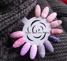 Christmas Nail Designs - My Cool Nail Designs Xmas Nails, Holiday Nails, Halloween Nails, Christmas Nails, Valentine Nails, Cute Nails, Pretty Nails, Nail Art Noel, Sweater Nails