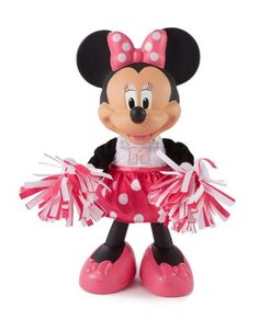 Fisher-Price Disney's Minnie Mouse Bowtique Cheerin' Minnie ----------------- Toys New Releases Baby Toys 24 Hour Deals Buy Five Star Products With Up To Discount Minnie Mouse Toys, Mickey Mouse And Friends, Toddler Toys, Baby Toys, Kids Toys, Large Pom Poms, Fisher Price Toys, Musical Toys, Bow