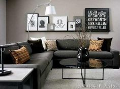 IDEAS for Small Living Spaces | Small living rooms, Decor interior ...
