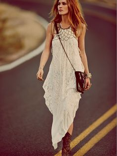 Free People Olympias Lace Dress, $128.00