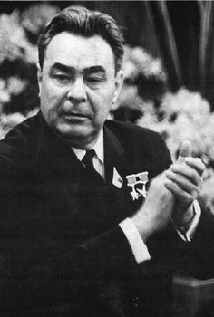 Leonid Brežněv -- a household name during the Cold War