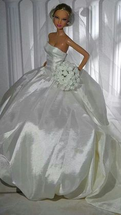 Beautiful Barbie dolls | Beautiful Bride, Barbie!