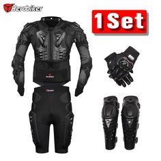 New Moto Motorcross Racing Motorcycle Body Armor Protective Jacket  Gears Short Pants protective Motorcycle Knee Pad gloves ** AliExpress Affiliate's buyable pin. Find similar products on www.aliexpress.com by clicking the VISIT button #Men'sJackets