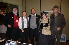 Steampunk Crew - at Steamathon 2015- Doc Phineas' World Steampunk Convention in Las Vegas at the Main Street Station Hotel and Casino #steamathon