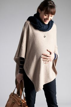 "Ooh pregnant lady poncho! I like it. http://www.babeswithbabies.com/product_details.aspx?product_id=4481=Perfect_Ways_Poncho      ""What's going on under there? Nobody has to know but you. - Poncho salesman"" Molly Manglewood."