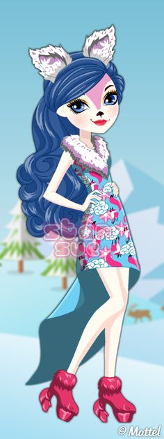 Ever After High Epic Winter Snow Pixies Foxanne Dress Up Game: http://www.starsue.net/game/Snow-Pixies-Foxanne.html Have Fun!  ♥