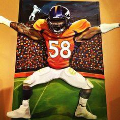 Von Miller #Broncos #Denver #NFL