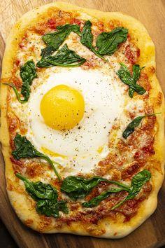 Naan, Pizza Legume, Pizza Recipes, Vegetable Pizza, Vegetables, Ethnic Recipes, Matins, Quesadillas, Pizza