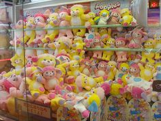 popples in a machine