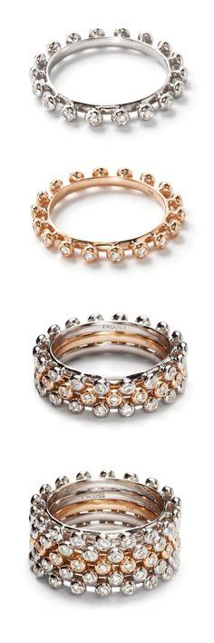 Alliance rings. Design Emquies-Holstein