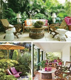 Style (E)scapes: C K Patio Inspiration! | coco kelley