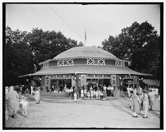 Carousel at Glen Echo Park. Grab the brass ring and you got another ride. What fun!