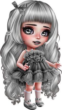 Dark Alice In Wonderland, Gothic Fantasy Art, Cute Love Gif, Sugar Skull Art, Gothic Dolls, Cute Dragons, Goth Art, Cover Tattoo, Fairy Art