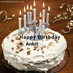 Successfully Write Your Name In Image Edit Online Birthday Cake Happy