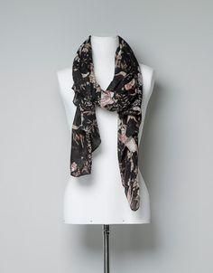 ORIENTAL PRINT SCARF - Scarves - Accessories - Woman - ZARA United States - $30