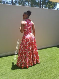 Kente Fabric Designs: See These Kente Styles For Fashionable Ladies - Lab Africa African Maxi Dresses, Latest African Fashion Dresses, African Dresses For Women, African Print Fashion, Africa Fashion, African Attire, African Wear, African Women, African Clothes