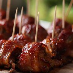 BBQ Bacon Ice Tray Meatballs Recipe by Tasty