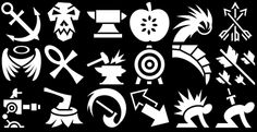 Game Icons is a massive icon pack containing a mighty 950+ icons which can be used for games or applications.  The icons are categorized in various categories such as Animal, Weapon, Fire , Food, Action, Liquid, Symbol, Skull, Plant, Body, Heart, Tool, Ar