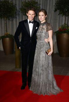 EE British Academy Film Awards 2015 - After Party Red Carpet Arrivals -Eddie Redmayne, Hannah Bagshawe