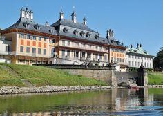 Palacio de Pillnitz, Dresde, Alemania.
