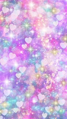 glitter wallpaper n. Cute Galaxy Wallpaper, Rainbow Wallpaper, Cute Wallpaper For Phone, Glitter Wallpaper, Heart Wallpaper, Kawaii Wallpaper, Cute Wallpaper Backgrounds, Pastel Wallpaper, Love Wallpaper