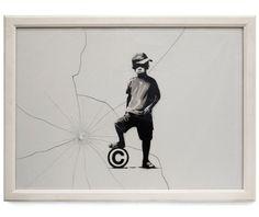Streetart : Banksy is back - neue Arbeiten aus UK ( 13 Bilder ) - Atomlabor Wuppertal Blog