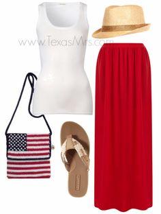 Texas Mrs.: I've got the (red, white, &) blues