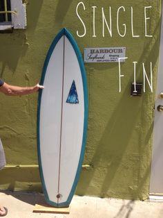 Harbour Surfboards  S.S. Diamond Tail // short, single fin diamond tail