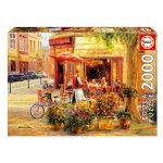 Puzzle 2000 pièces :  Corner café -  Haixia Liu