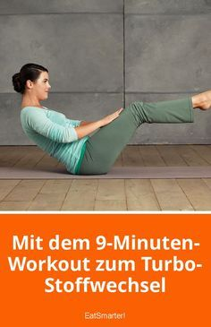 Mit dem 9-Minuten-Workout zum Turbo-Stoffwechsel | eatsmarter.de #fitness #sport #training #abnehmen