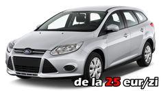 Rent a car Timisoara, masini de inchiriat in Timis si orasul de pe Bega. Ford Focus, Car Rental, Vehicles, Car, Vehicle, Tools