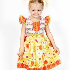 Yellow Bee Sweet Riley Dress