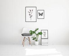 Tyylipuhdas juliste magnolialla | Taulu valokuvataiteella | Painokuvat ja julisteet kukilla. Desenio