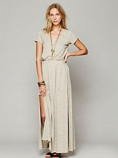 Free People Audrina Maxi Dress in Day-Dresses