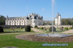 Chenonceau Castle http://allonfrance.com/top-10-castles-in-the-loire-valley/