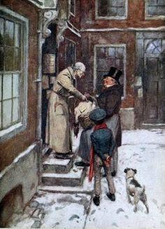 Scrooge w nowej roli - darczyńcy.